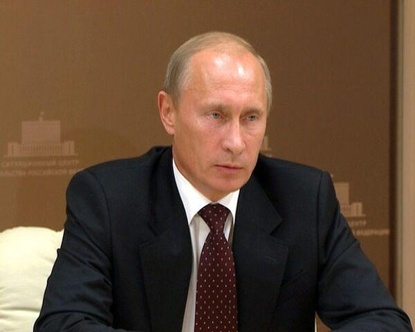 Путин: пострадавший от пожаров Алтайский край получит 1,4 млрд