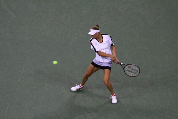 Российская теннисистка Вера Звонарева. Финал турнира US Open 2010