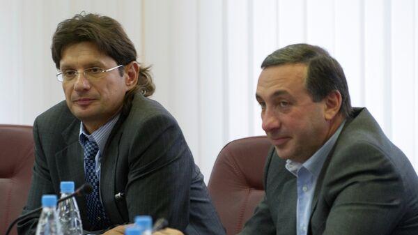 Леонид Федун и Евгений Гинер