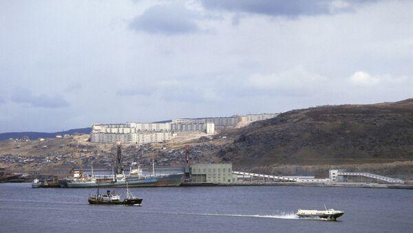 Мурманский морской торговый порт. Архивное фото