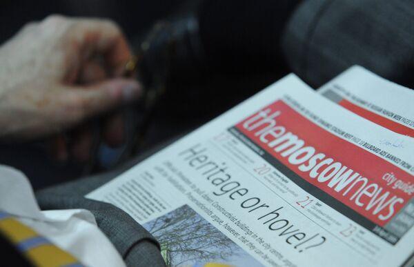 Газета The Moscow News