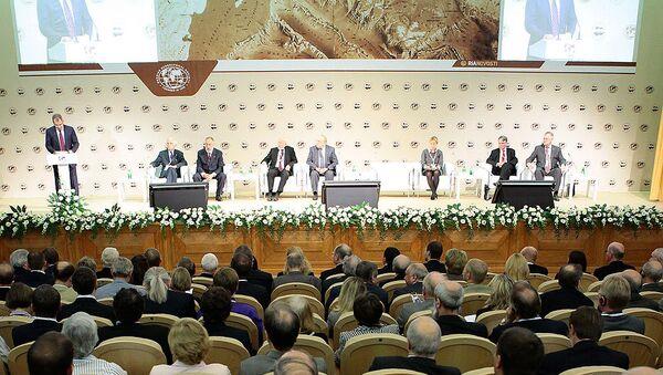 Заседание Арктического форума. Архив