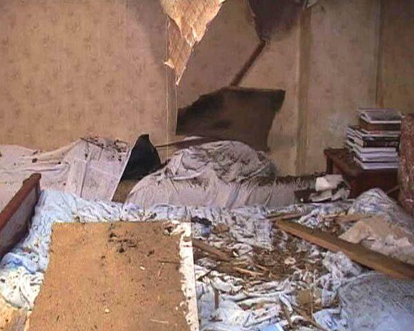 Снаряд от гранатомета попал в спальню вице-президента Абхазии