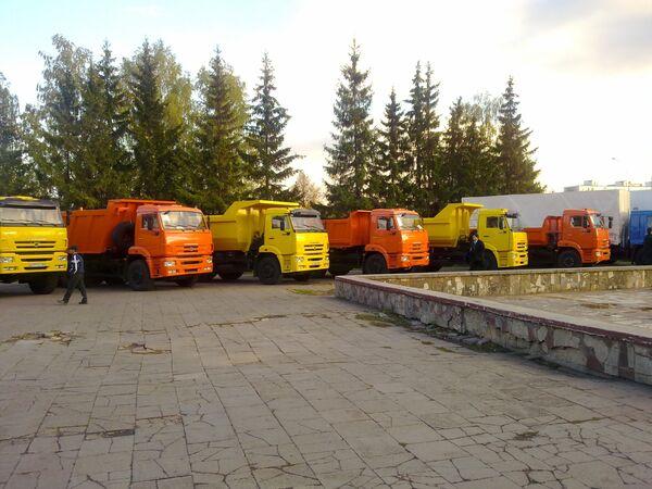 День машиностроителя на КАМАЗе