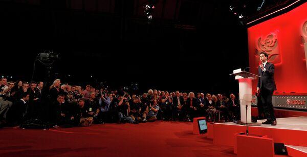 Эд Милибэнд стал лидером британских лейбористов