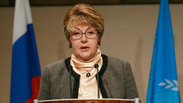 Председатель исполнительного совета ЮНЕСКО Элеонора Митрофанова. Архивное фото