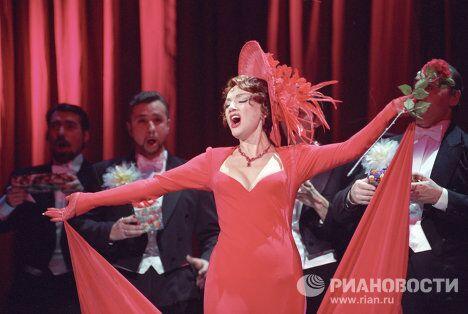 Премьера спектакля на сцене  Московского театра оперетты.