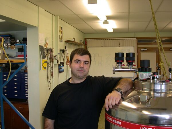 Лауреат Нобелевской премии 2010 года по физике Константин Новоселов