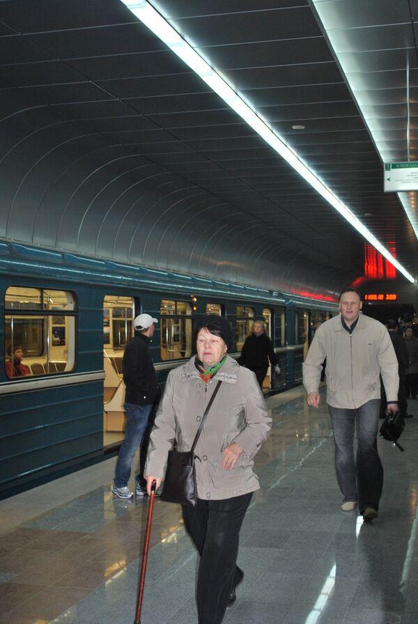 Станция метро Золотая Нива в Новосибирске