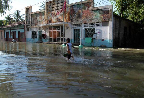 Наводнение в Никарагуа