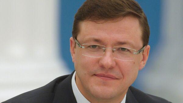 Мэр Самары Дмитрий Азаров, архивное фото