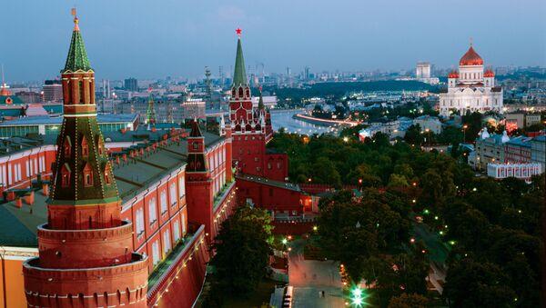 Александровский сад в Москве. Архив
