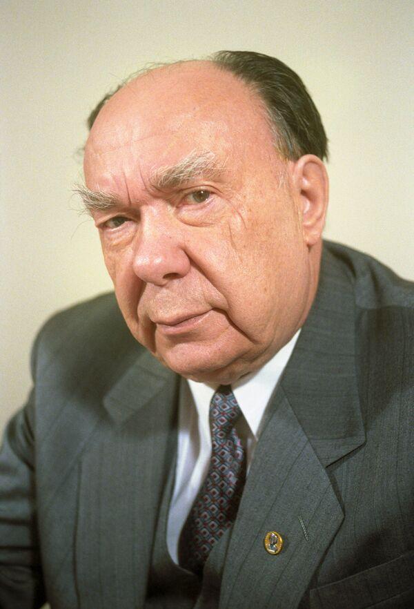 Президент Международного фонда Демократия Александр Николаевич Яковлев
