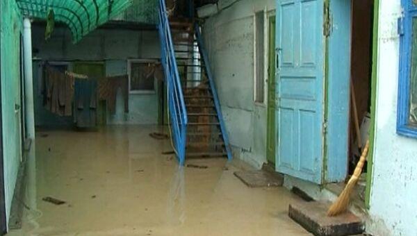 Подтопление домов в Туапсинском районе