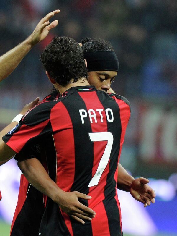 Милан победил Кьево в домашнем матче Серии А