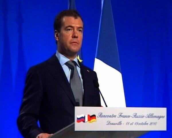 Медведев поедет на саммит Россия-НАТО искать компромиссы