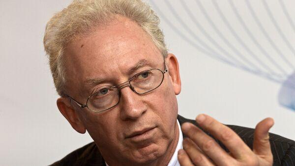 Председатель Совета директоров ОАО МДМ-Банк Олег Вьюгин на Международной конференции Российский денежный рынок