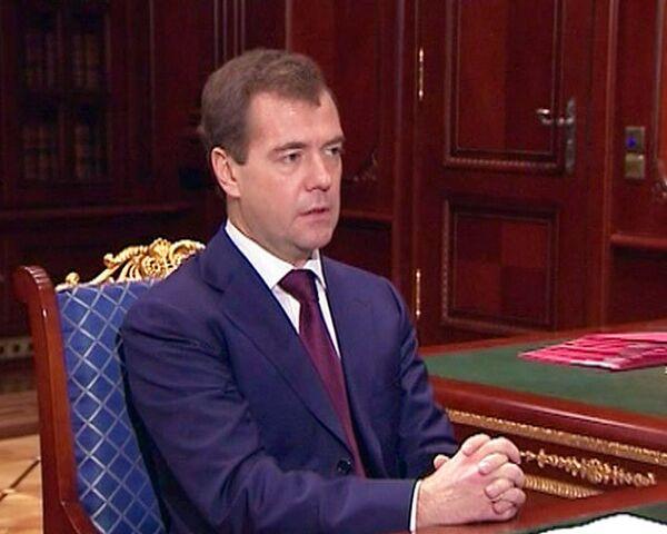 Медведев сказал, чего ждет от Володина на посту зампреда правительства