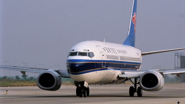Самолет авиакомпании China Southern