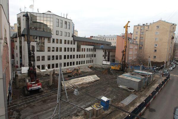 Строительство гостиницы в Малом Козихинском переулке