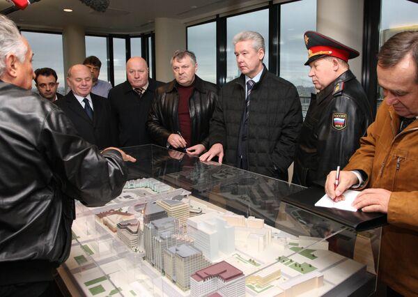 Сергей Собянин оценил транспортную ситуацию на площади Белорусского вокзала