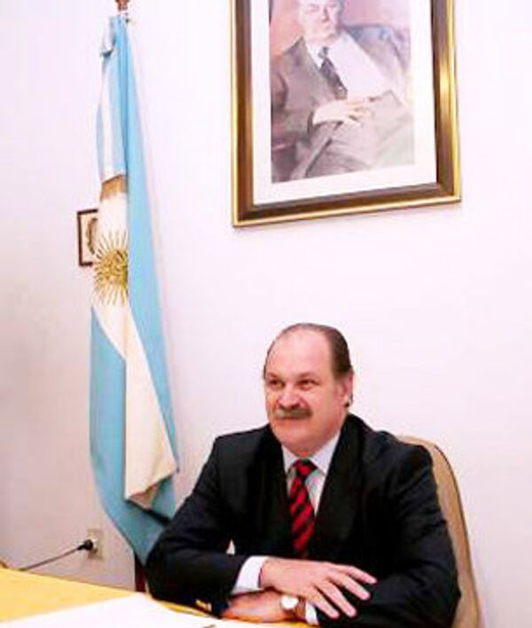 Чрезвычайный и полномочный посол Аргентины в России Леопольдо Альфредо Браво