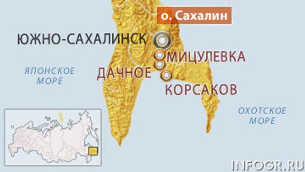 Крушение вертолета Ми-8 на Сахалине