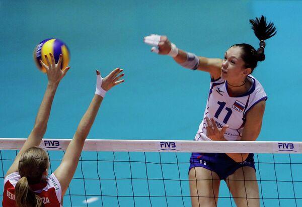 Российские волейболистки обыграли сборную Польши на чемпионате мира