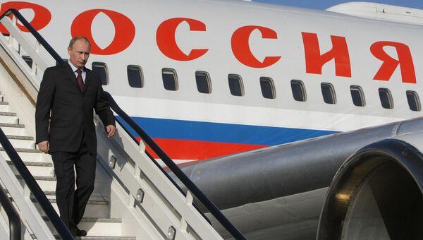 Путин прибыл в Минск на встречи Таможенного союза, ЕврАзЭС и СНГ