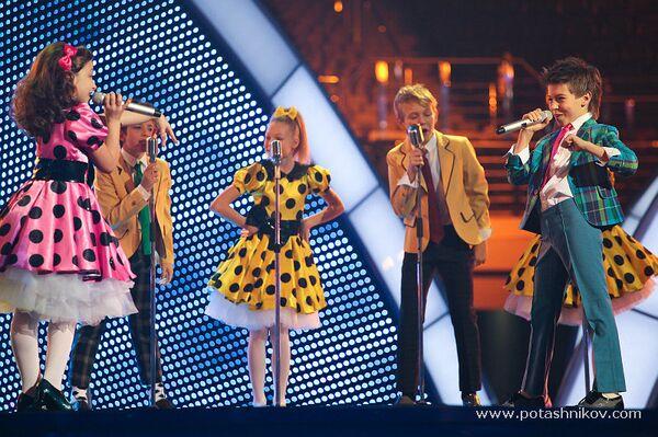 Дмитрий Колдун на репетиции детского Евровидения в Минске
