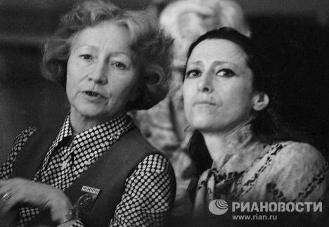 Уланова и  Плисецкая в жюри III Международного конкурса артистов балета