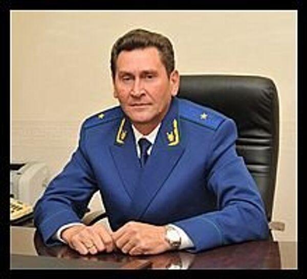 Заместитель прокурора Московской области Федор Иванович Ильин