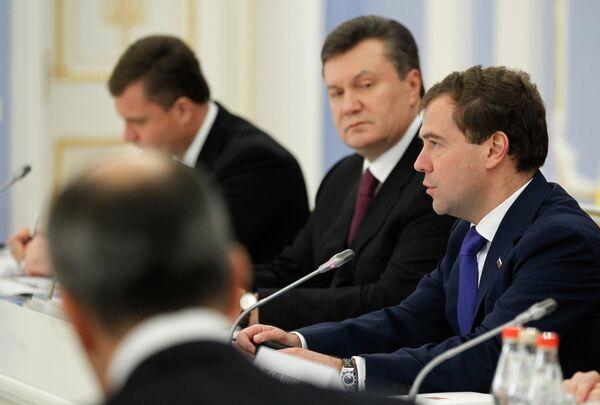 4-е заседание российско-украинской межгосударственной комиссии