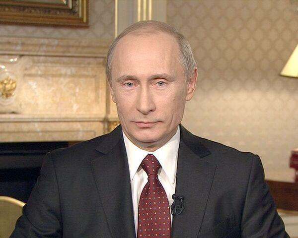 Владимир Путин дал интервью Ларри Кингу