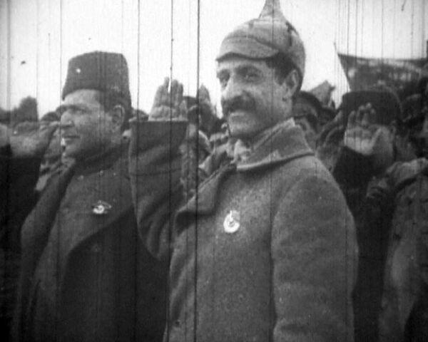 Гражданская война: уникальные кадры архивной кинохроники