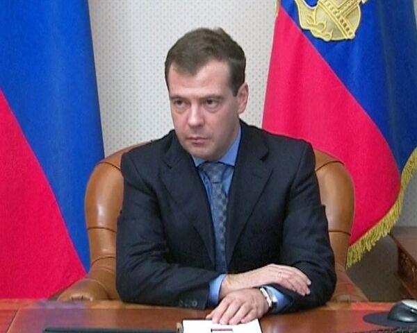 Медведев требует увольнения чиновников, допустивших резню в Кущевской
