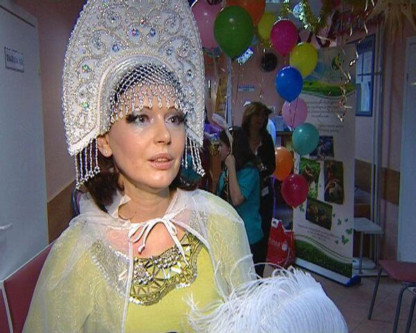 Ирина Безрукова стала феей для пациентов Центра здоровья детей РАМН