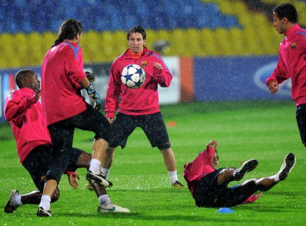 Футболисты Барселоны. Архив