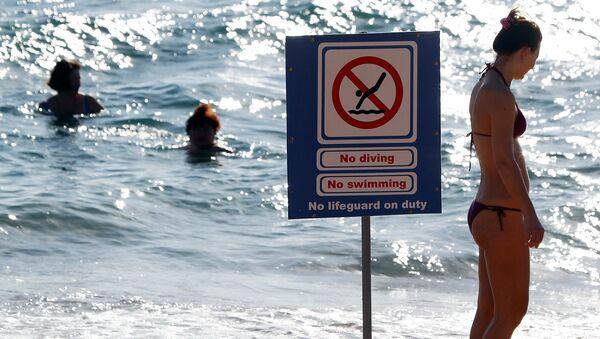 Запрет на купание в Шарм-эш-Шейхе