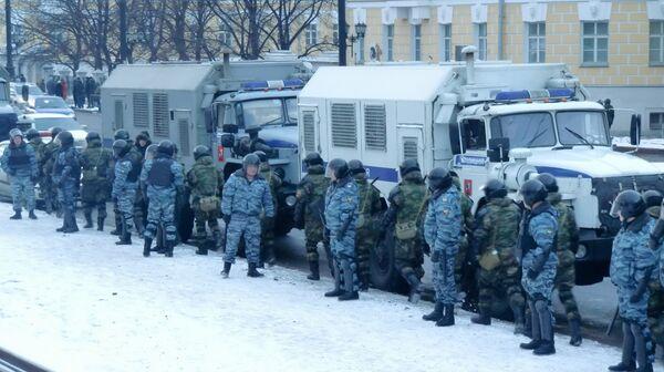 Усиление мер безопасности в Москве после беспорядков фанатов