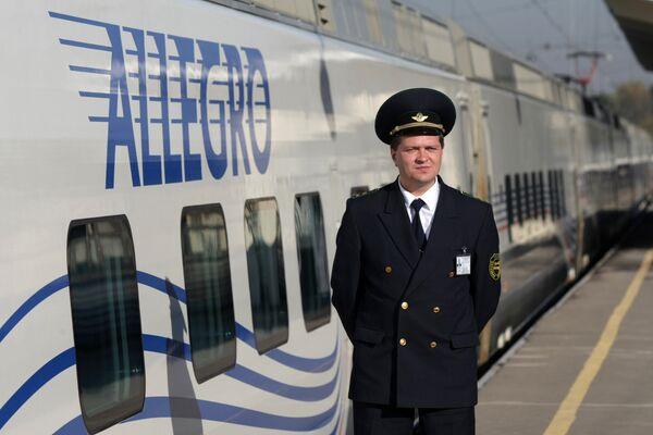 Презентация скоростного поезда Аллегро Санкт-Петербург - Хельсинки