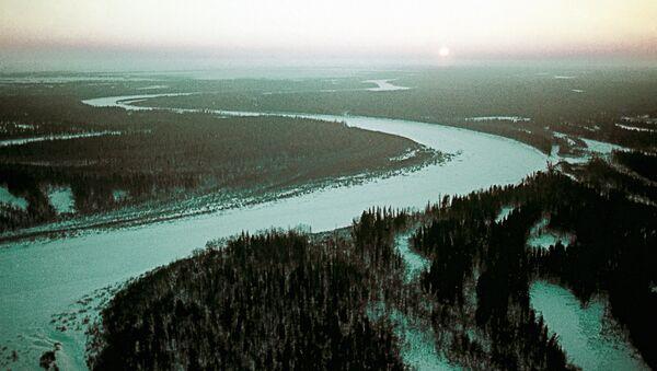 Пейзаж Ямало-Ненецкого национального округа, где расположены ряд месторождений нефти и газа. Архив