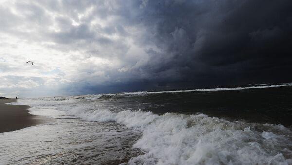 Вид на побережье Балтийского моря. Архивное фото