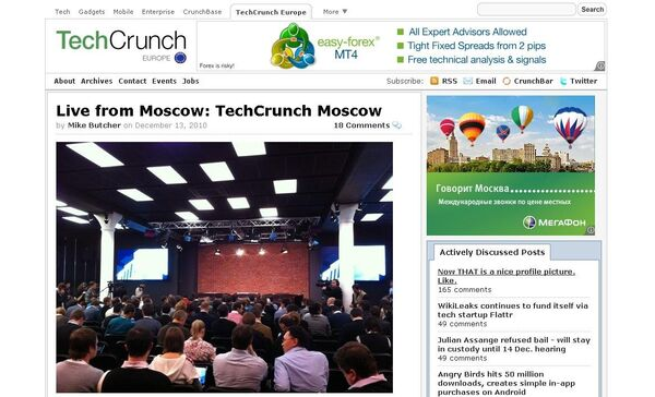 TechCrunch Moscow