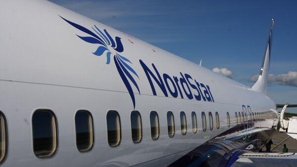 Самолет Boeing 737 авиакомпании NordStar