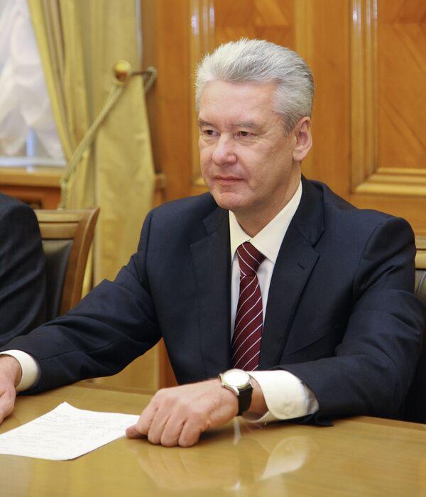 Мэр Москвы Сергей Собянин. Архив