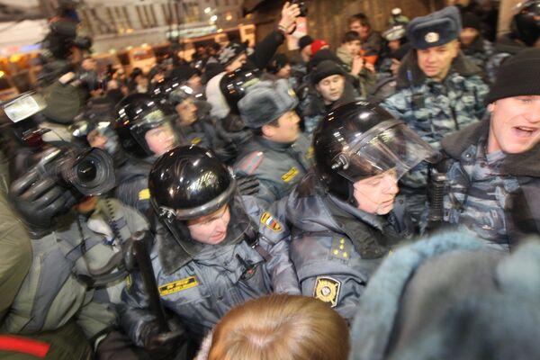 Меры безопасности в районе Киевского вокзала