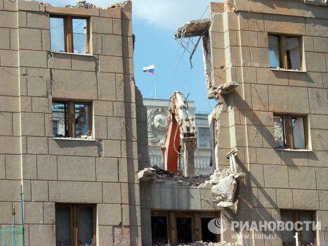 Реконструкция гостиницы Москва
