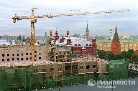 Реконструкция здания  гостиницы Москва