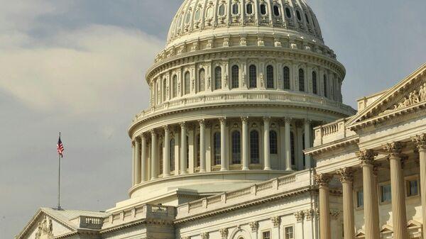 Здание американского Сената в Вашингтоне. Архив